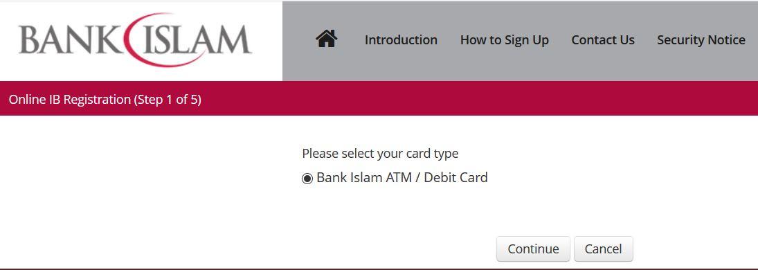 Cara Daftar Internet Banking Bank Islam