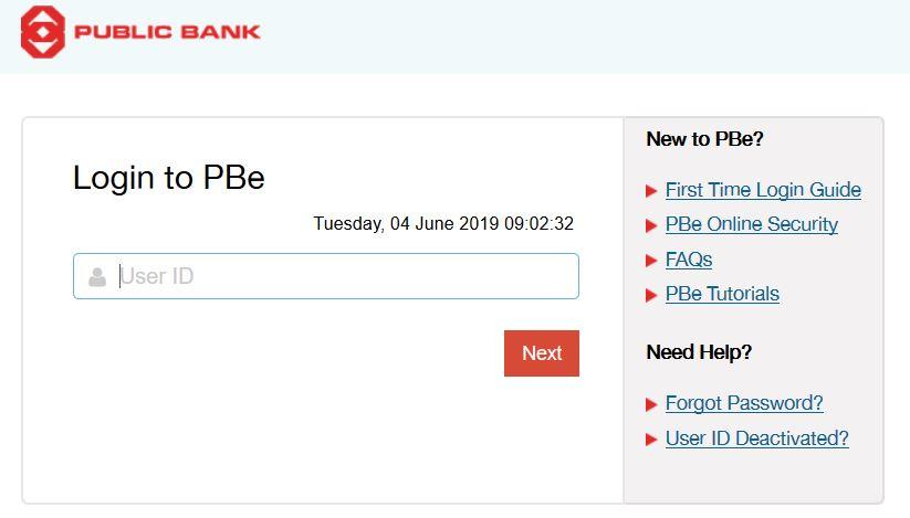 Cek Baki Akaun Public Bank Online