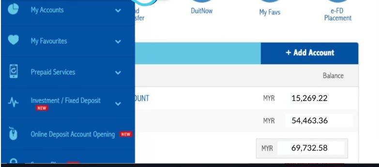Cara Semak Akaun RHB Bank Online