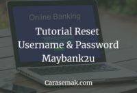 Forgot Username Maybank2u
