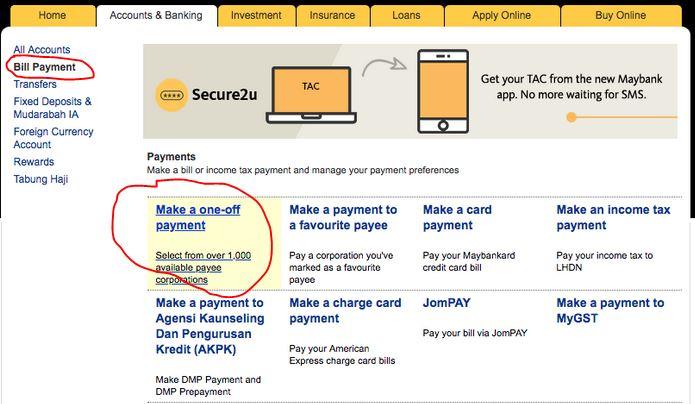 Cara Bayar Pinjaman Kereta Maybank