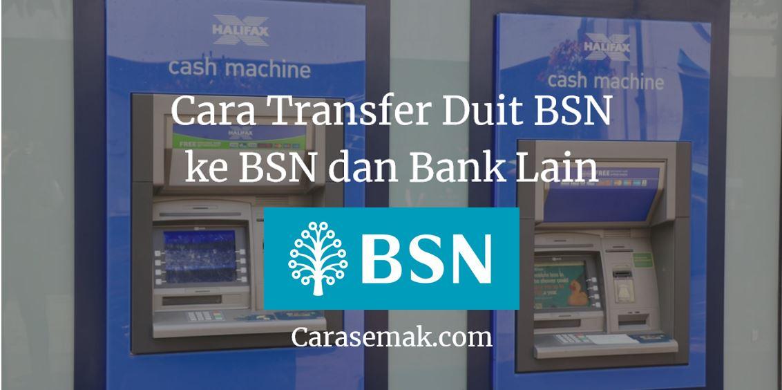 Cara Transfer Duit BSN