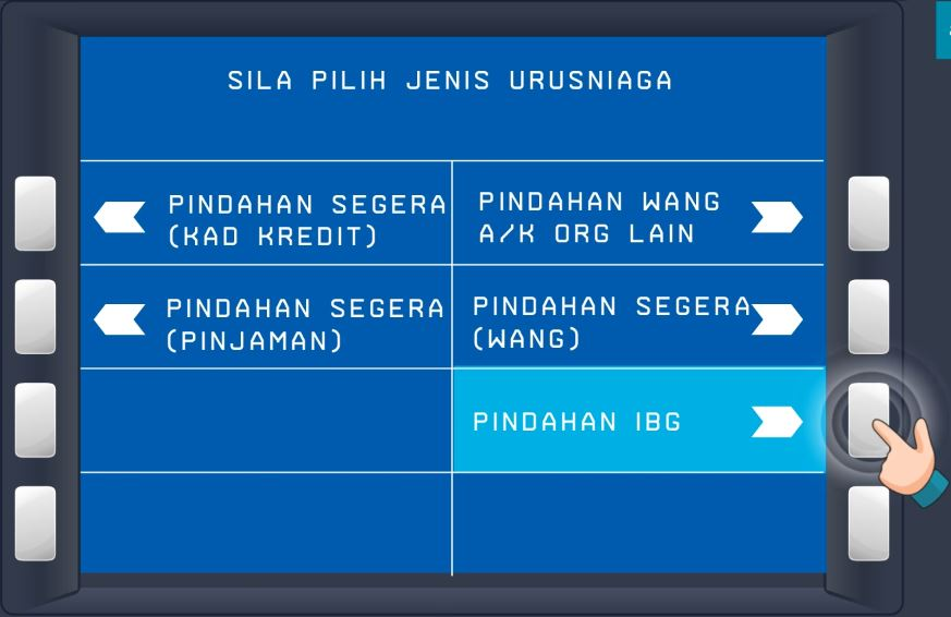 Cara Transfer IBG BSN