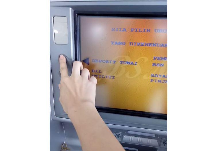 Deposit Tunai ATM BSN