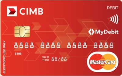 Kad Debit Bank CIMB