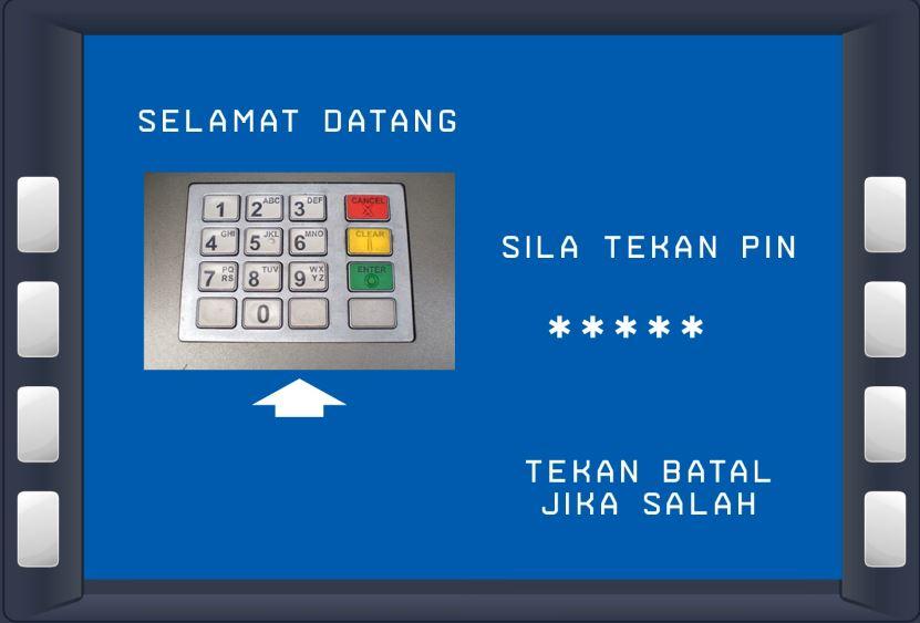 Masukan PIN BSN