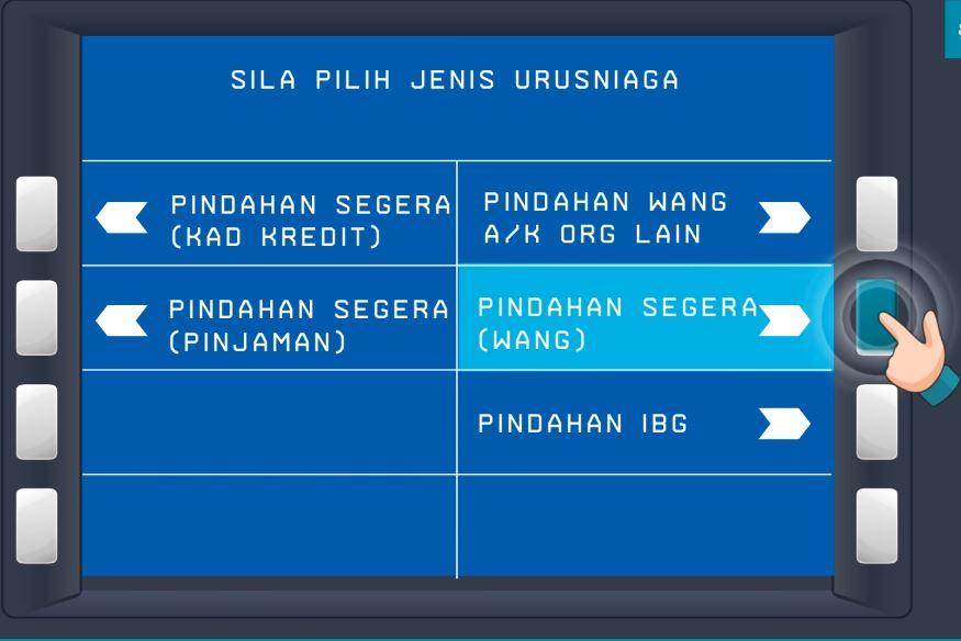 Pindahan Wang BSN ke BSN
