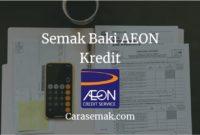 Semak Baki AEON Kredit