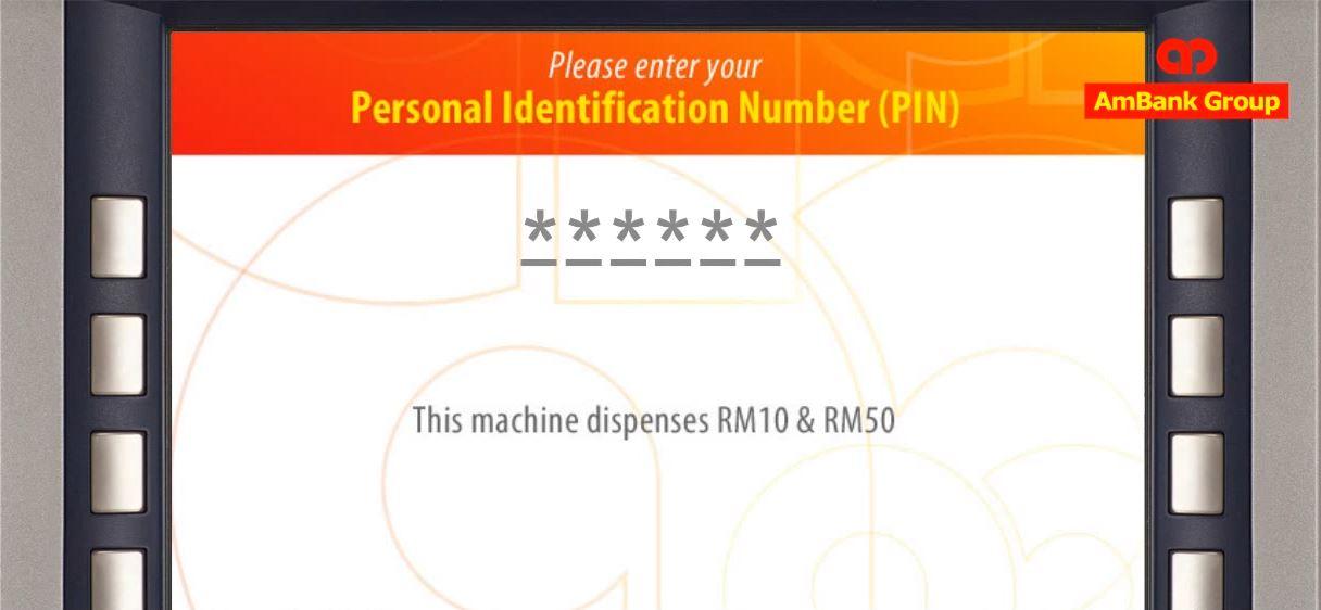 Semak Baki Ambank ATM