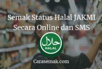 Semak Status Halal