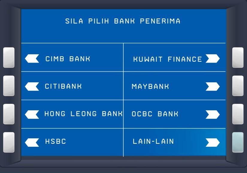 Transfer Wang dari BSN ke Bank Lain
