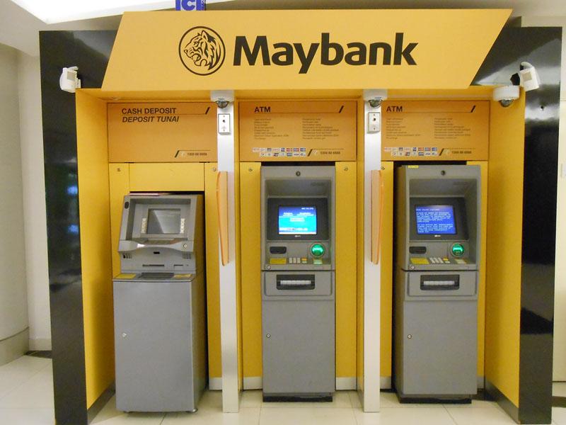 Tukar Nombor Telefon TAC Maybank2u ATM