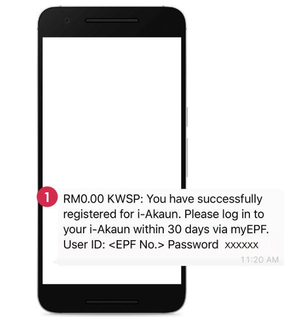 Aktifkan Akaun KWSP