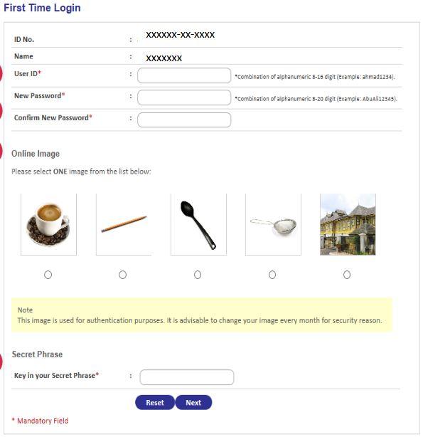 Register KWSP i-Lestari