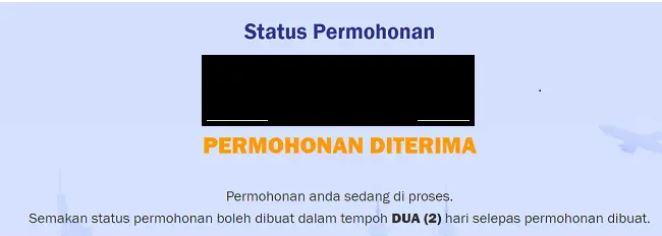 Status Permohonan KWSP Online