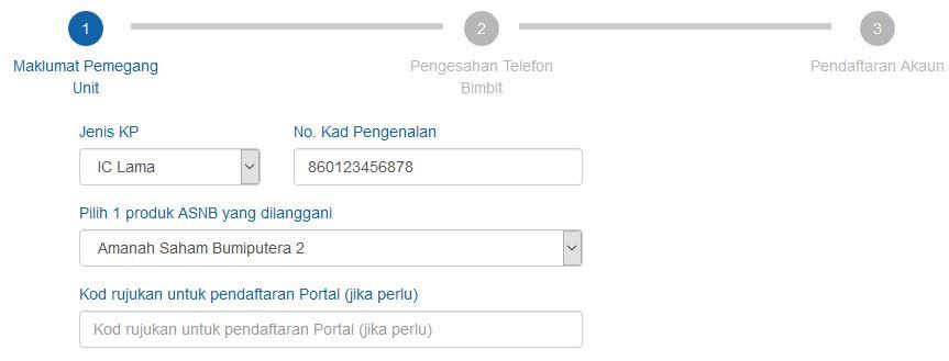 Cara Daftar Myasnb Online Dalam 5 Minit Berjaya