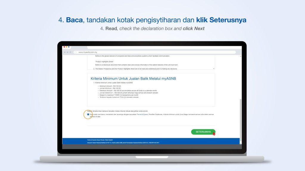 Semakan Status Pengeluaran ASB Online