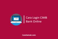 Cara Login CIMB Bank Online